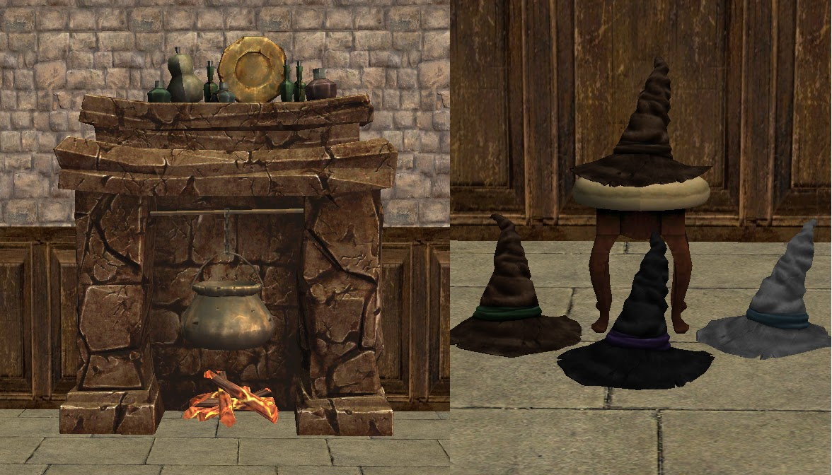 Decat S Sims 2 Creations Harry Potter Conversions A Tsm