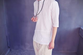 Kemeja Pria Warna Putih Model Korea Terbaru Mei 2016