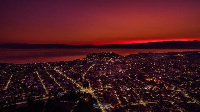 Bild des Tages - Abenddämmerung in Ohrid