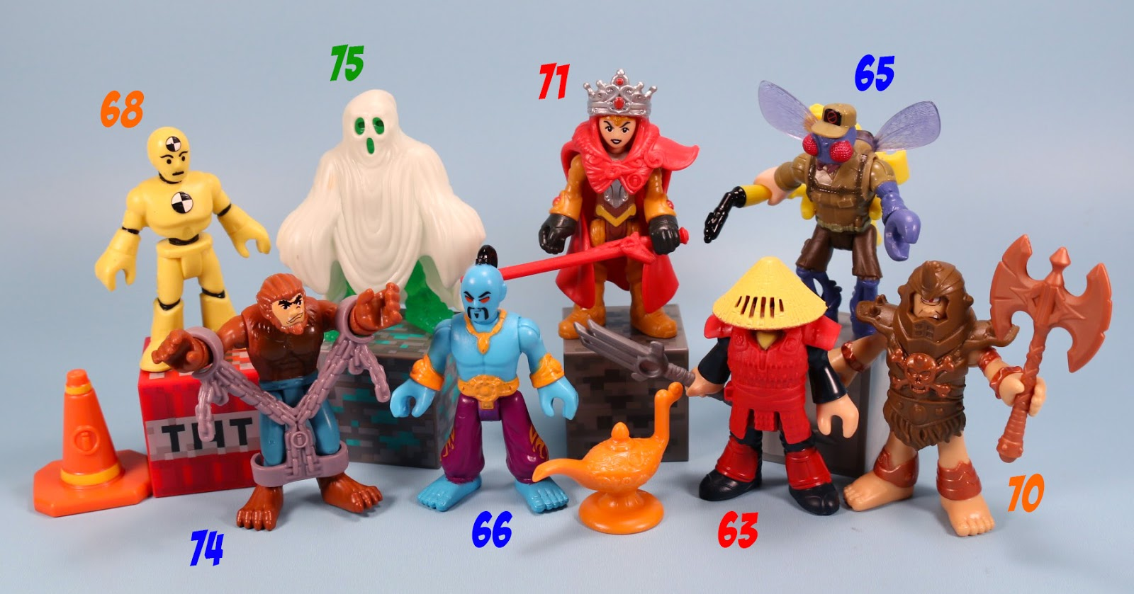 The Toy Museum Imaginext Series 5 Mystery Figures And