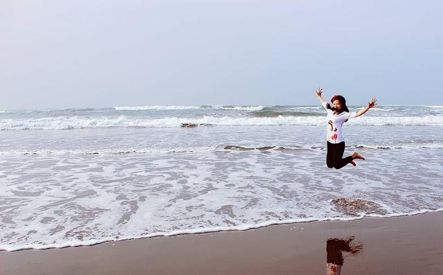 foto keren di pantai parangtritis