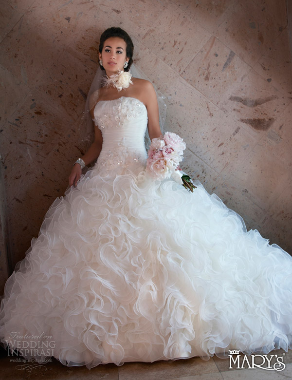Really Perfect Wedding Dress Trends 2013