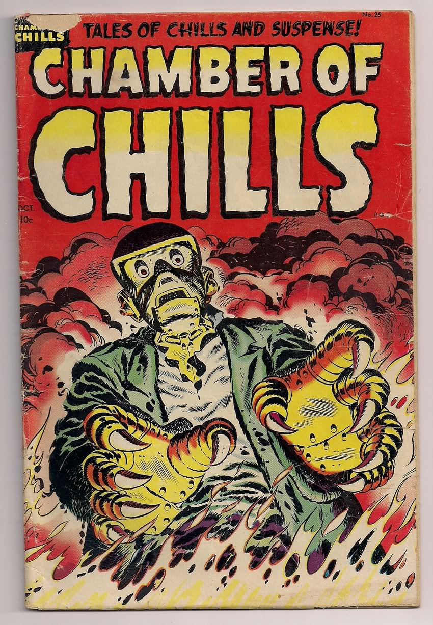horror illustrated 1950 s horror comic book covers