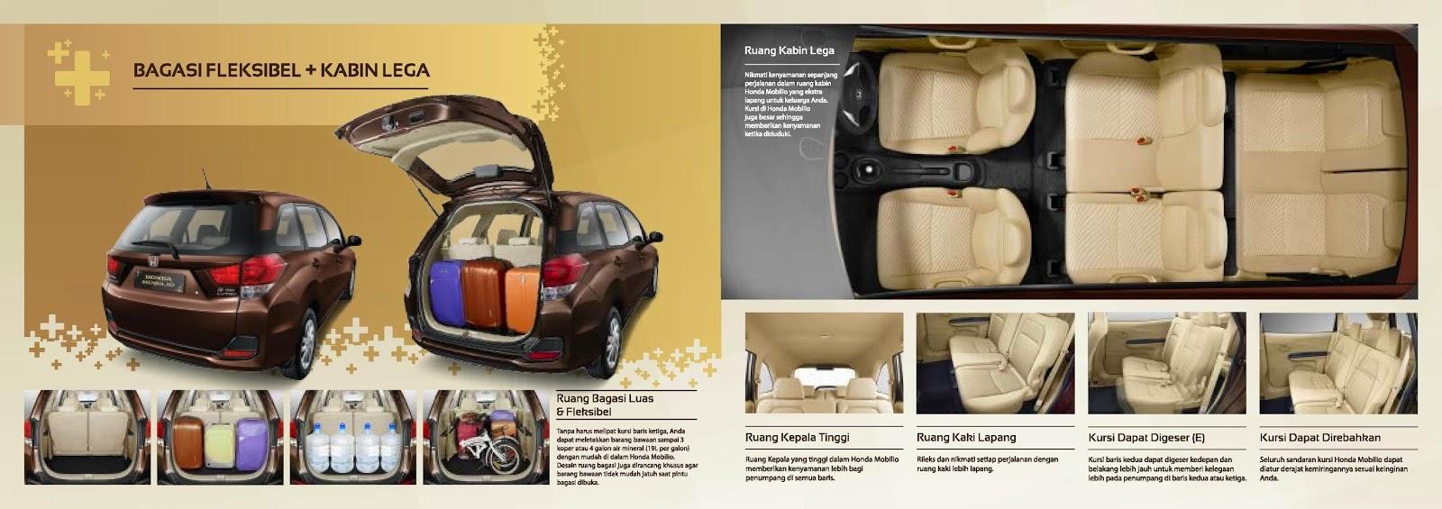 Bagasi Penyimpanan Honda Mobilio