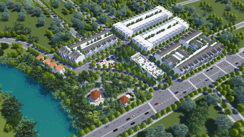 Image result for đất nền đô thị phối cảnh