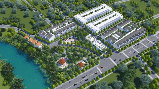 Phối cảnh khu đô thị Lovera Park Đồng Kỵ