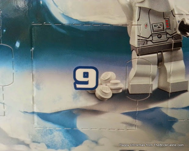 The LEGO Star Wars Advent Calendar Dec 9th window