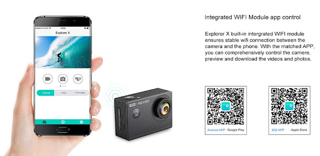 Elephone REXSO Explorer X Action Camera 4K