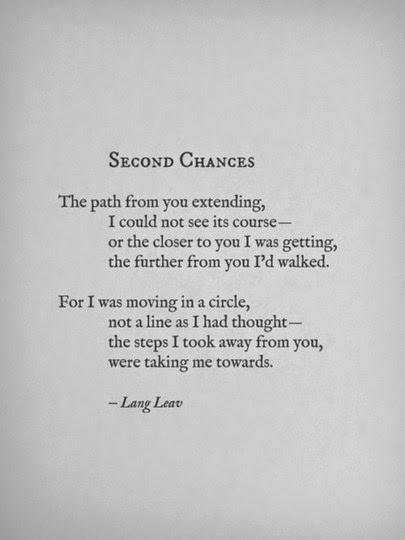 When second chances become a habit !!?