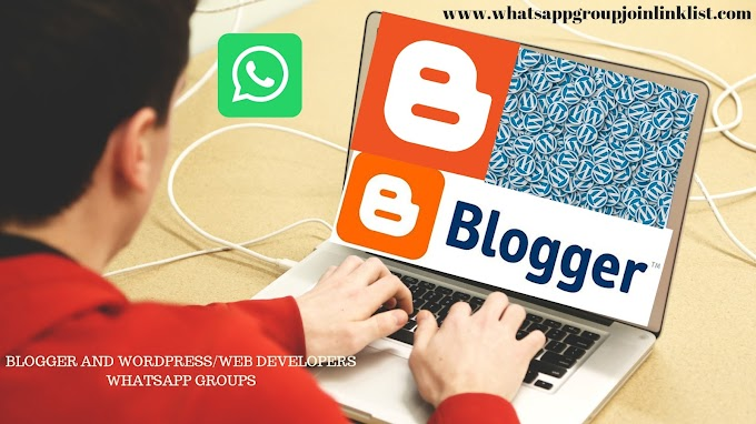 New Blogger & Youtuber Join Whatsapp Group Link