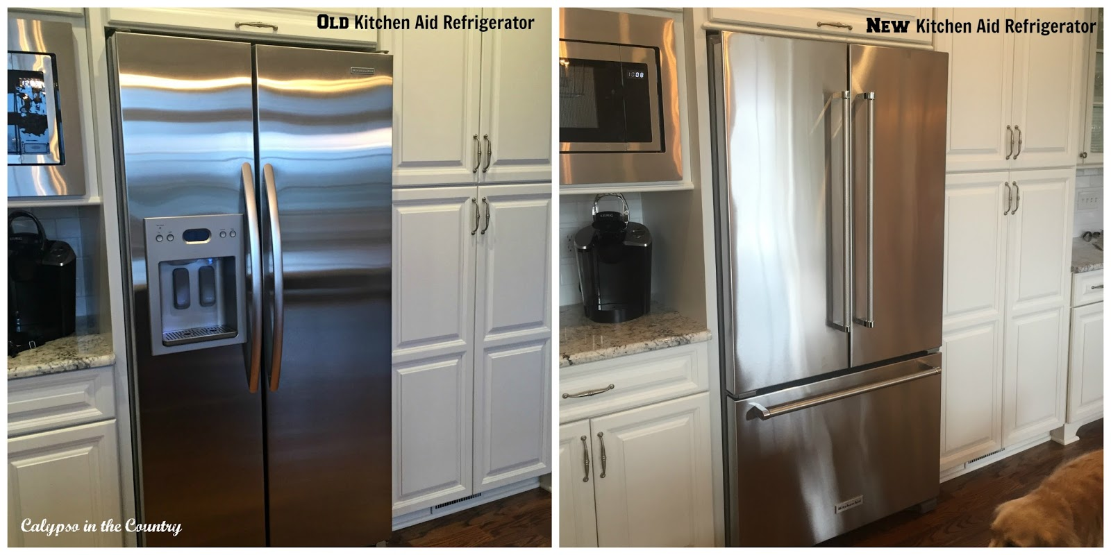 Before and After Refrigerators