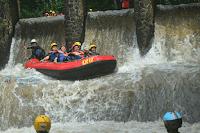 wisata rafting kalibaru