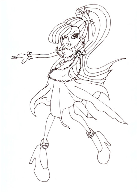 All About Monster High Dolls Spectra Free Printable