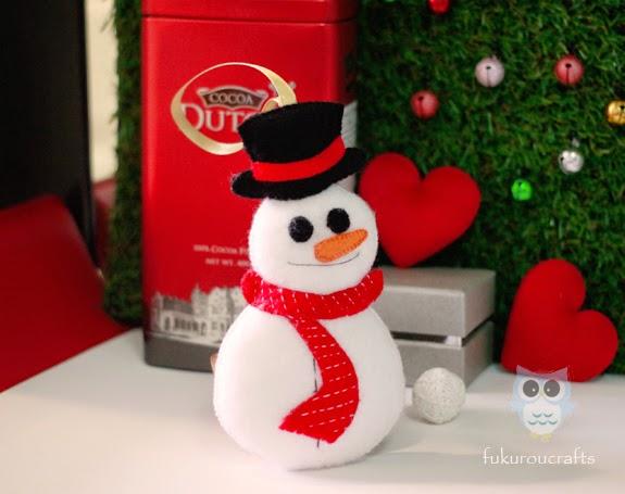 Cute Snow man Felt Doll Christmas ornaments, handmade,  เครื่องประดับ, ตกแต่ง ต้น คริสมาสต์  ปีใหม่  ตุ๊กตา หิมะ ผ้า สักหลาด น่ารัก