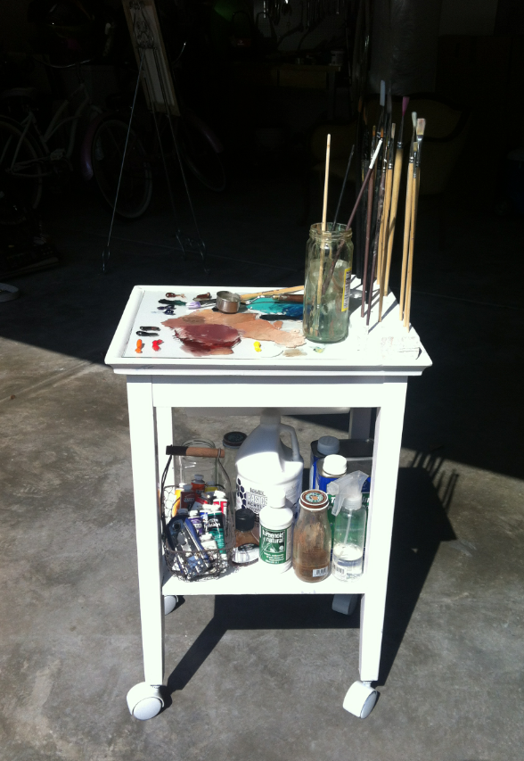 Reutters Painters Table Decorated