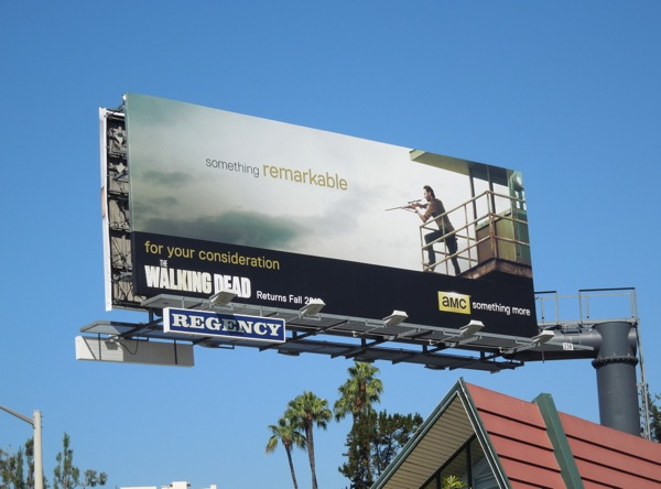 Walking Dead Remarkable AMC Emmy billboard
