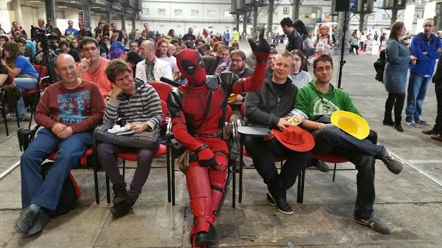 Deadpool en el salón del manga de Barcelona 2015