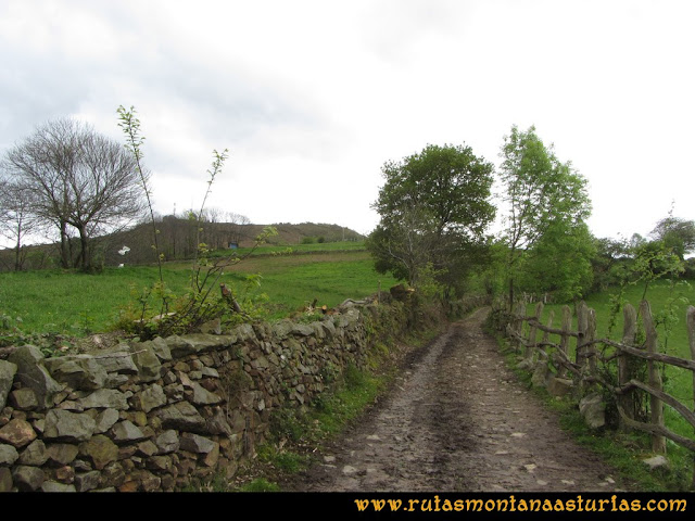 Ruta Ablaña Llosorio: Por pista, al mirador de Seana