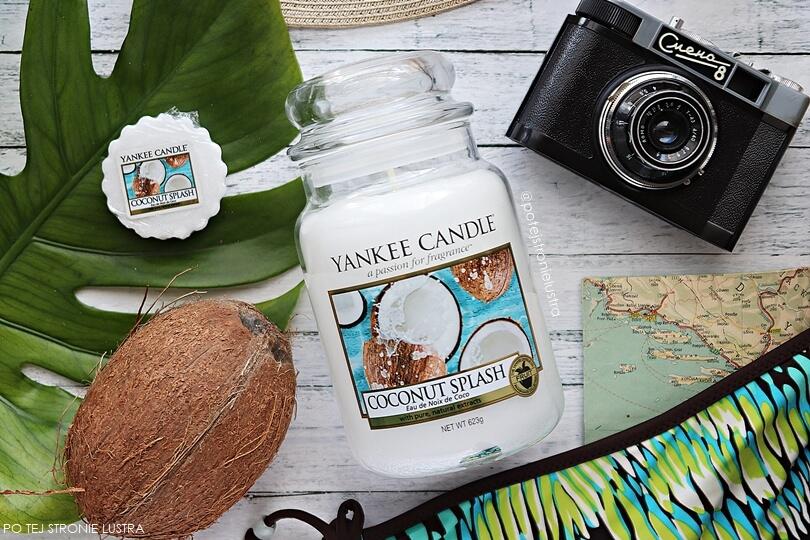 zapach yankee candle na lato 2018 coconut splash