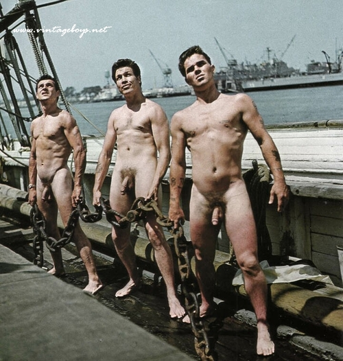 Nude Male Sailor