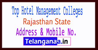 Top Hotel Management Colleges in Rajasthan