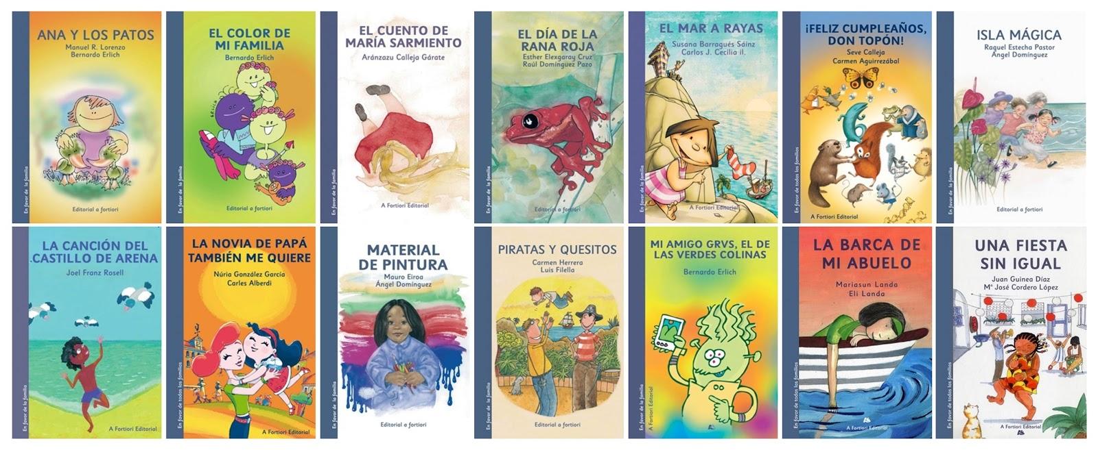 """Colección """"Cuentos En Favor De TODAS Las Familias"""""""