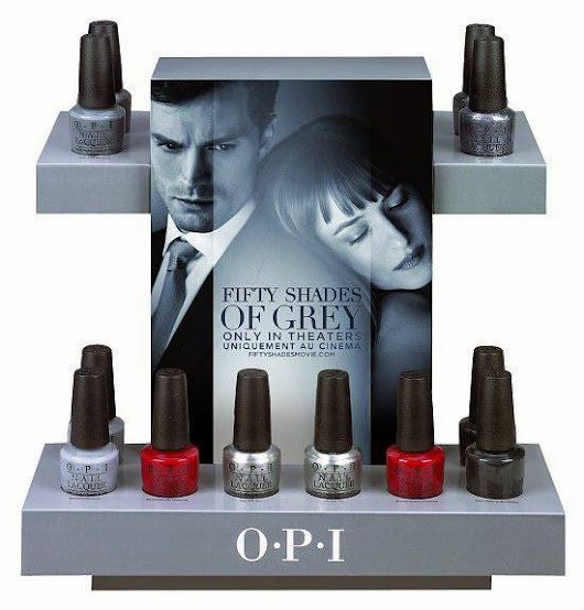Fifty Shades of Grey Collection For OPI Spring 2015