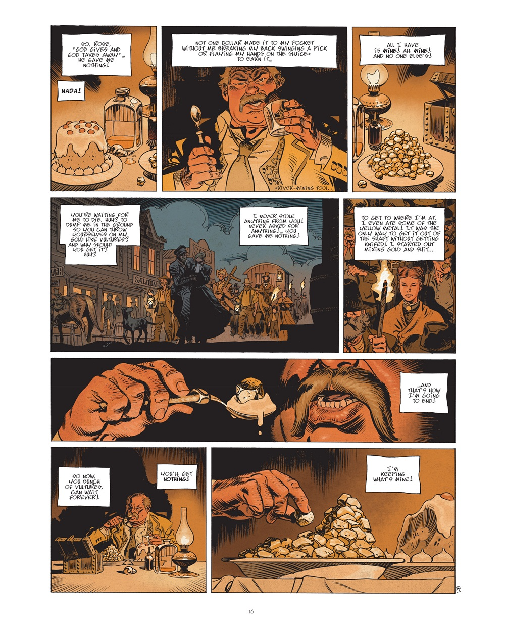 Undertaker 001 – The Gold Eater (2016) ………………… | Viewcomic reading ...