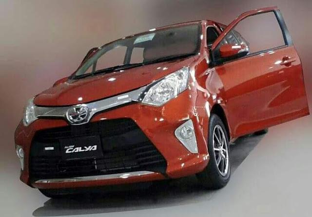 Penampakan Toyota Cayla