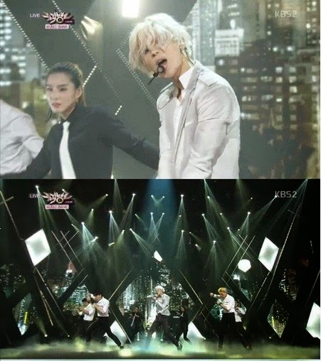 Taemin makes his solo debut stage with 'Ace' and 'Danger' at