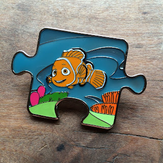Finding Nemo Character Connection Mystery Pin nemo