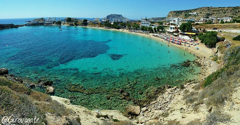 Lefkos spiaggia Karpathos