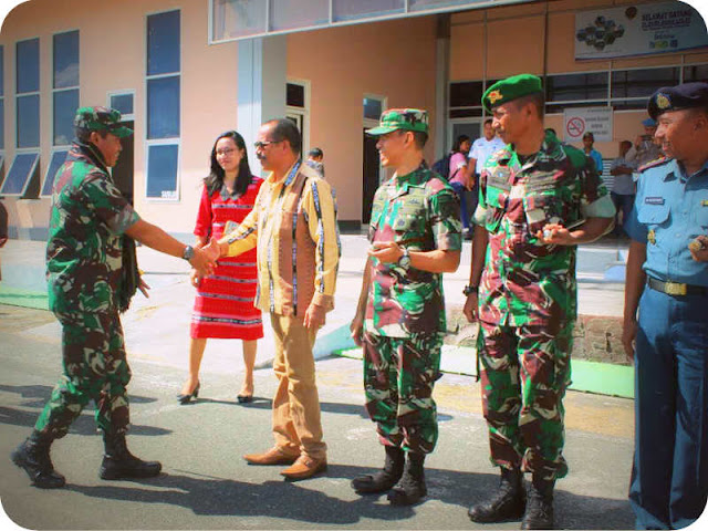 Suko Pranoto Tinjau Lokasi Pembangunan 2 Batalyon di MTB