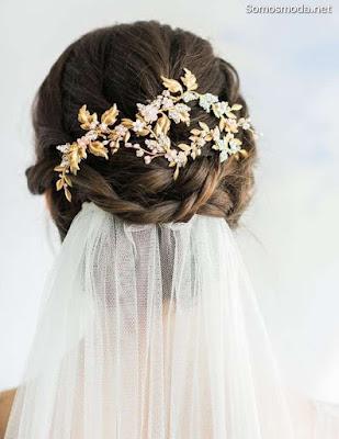 Peinado de moda para novia