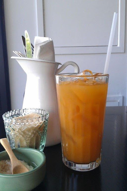 Our Kitchenette, Hawthorn, apricot ginger lemonade