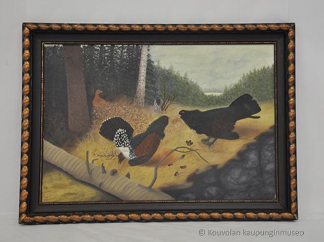 Kouvolan museoaarteita: Taistelevat metsot