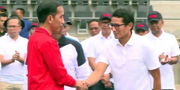 Jokowi Keluarkan Keppres Pemberhentian Sandi