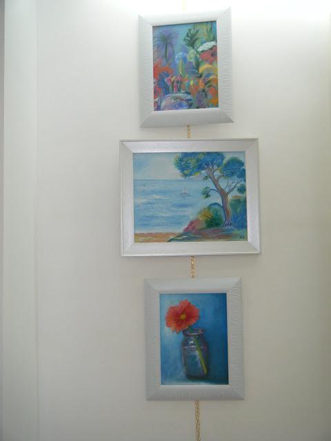Les peintures de mes élèves à l'expo 19