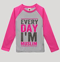 KAOS ANAK MUSLIM - EVERY DAY I' MUSLIM