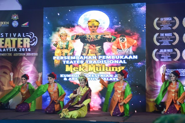 Malaysian Theater Festival 2016 will be Happening in Kedah!