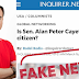 Cayetano debunks Inquirer article about his citizenship: 'Well disguised malicious article'