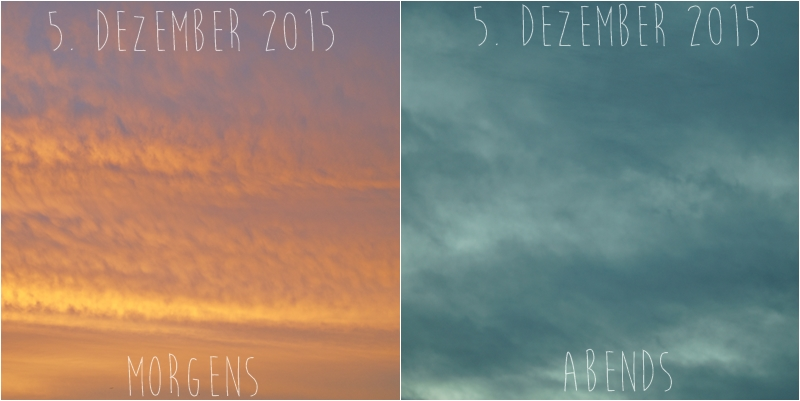 Blog + Fotografie by it's me! - Himmel am 5.12.2015