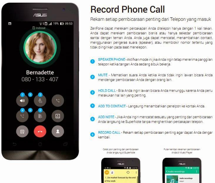 Record Phone Call, Merekam percakapan telepon