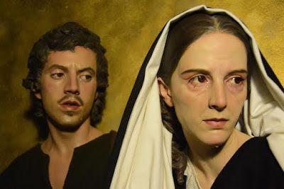 La Virgen Maria con San Juan Evangelista