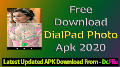 Replace Boring Calling Dial Pads with Your Photo - Phone Dialer - Contacts (Download Free App 2020)