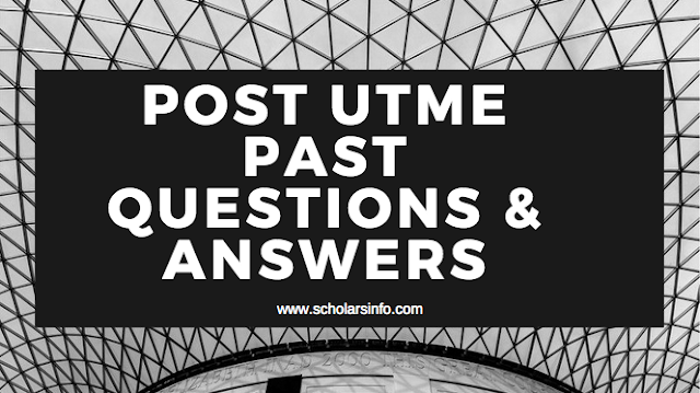Osun State University Osogbo Post UTME Past Exams Questions And Answers | Download Free UNIOSUN Aptitude Test Past Questions and Answers - Cut off Mark & Post UME Screening Date