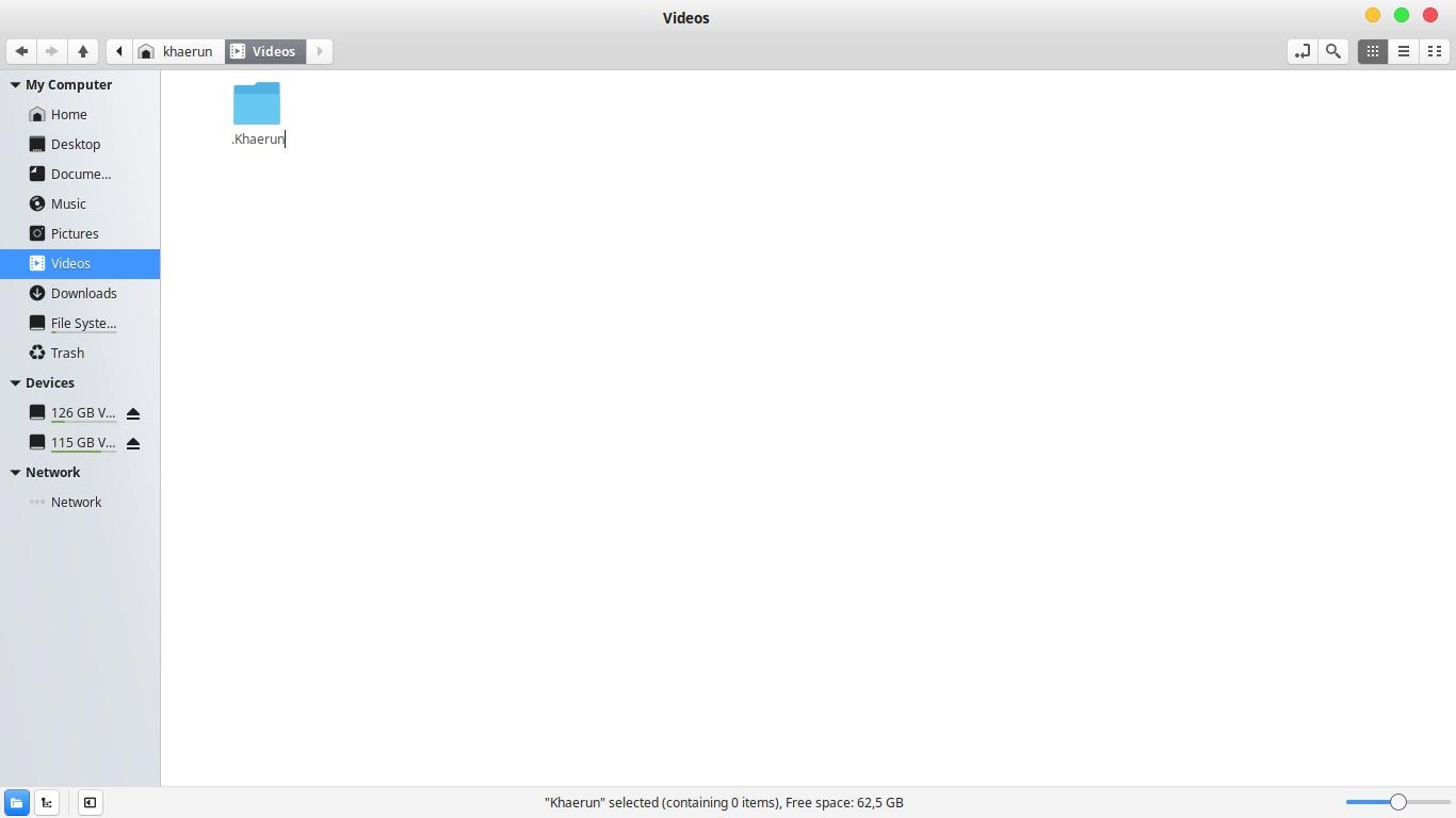 Gambar Menambahkan titik di nama file