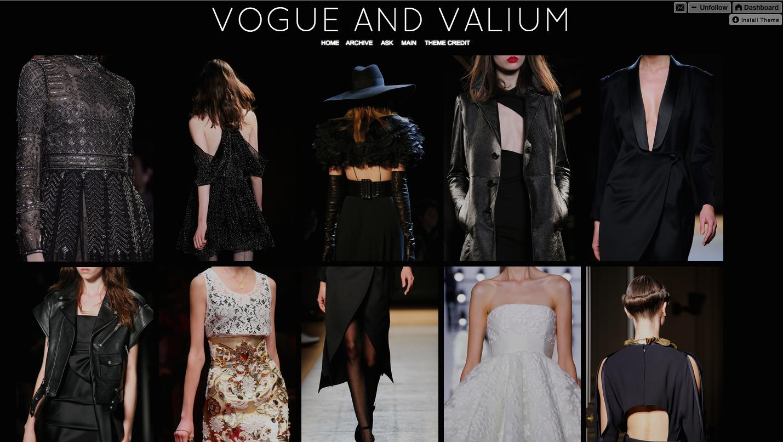 vogue, monochrome, fashion, blog