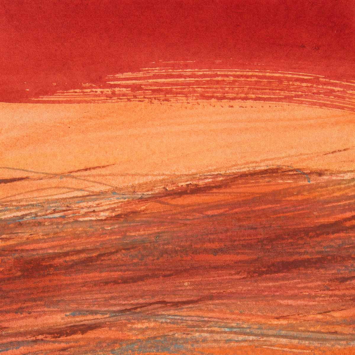 10 x 10 cm, aquarelle et crayons sur papier, 23 oct 14