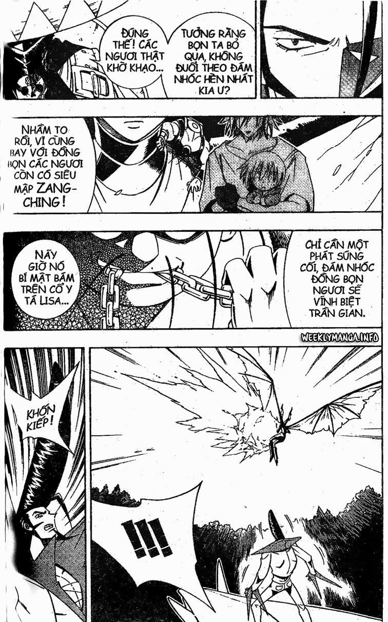 Shaman King [Vua pháp thuật] chap 188 trang 8